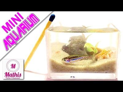 DIY MINI AQUARIUM REAL | mit Bauanleitung | handmade miniature aquarium