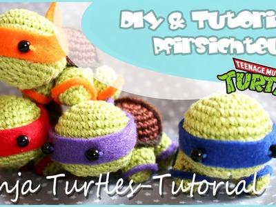 Ninja-Turtles häkeln  - DIY by Pfirsichteufel | Amigurumi | TMNT