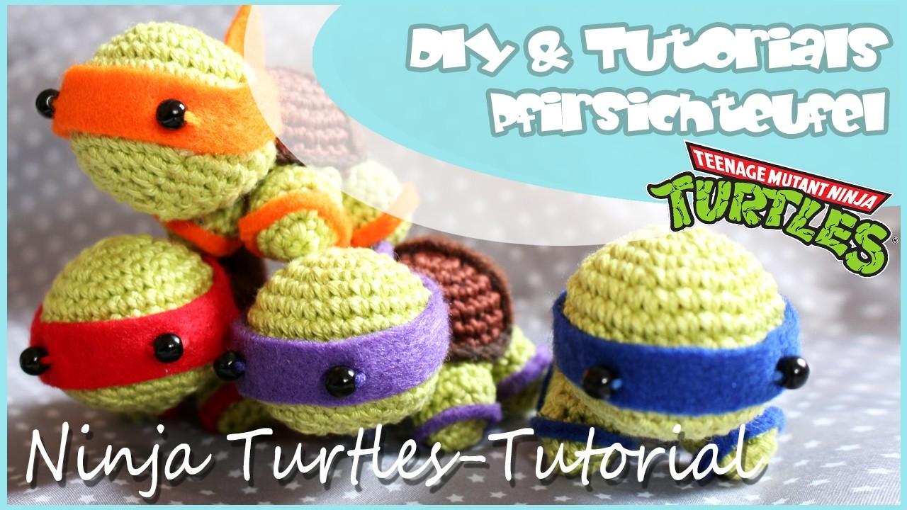 Ninja Turtles Häkeln Diy By Pfirsichteufel Amigurumi Tmnt