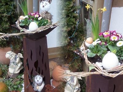 DIY:Blumen-WERKSTATT; Frühlings Blumen DEKO in Shabby Chic SELBER MACHEN; How-to,