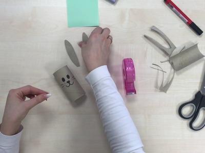 DIY – Osterhasen Serviettenhalter – KODis Kreativecke