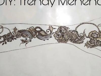 DIY: Trendy Mehendi Design