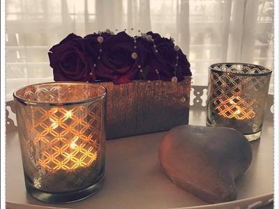 DIY Dekorieren mit Rosen