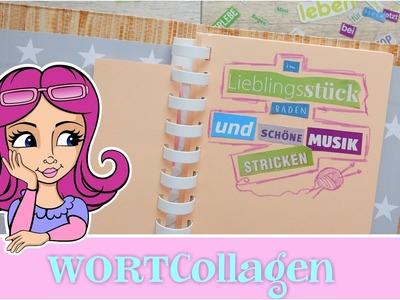 #DIY #PaperArt ????#WORTCollagen???? #ArtJournaling #selbermachen #Bastelideen #mitChristineCreativ