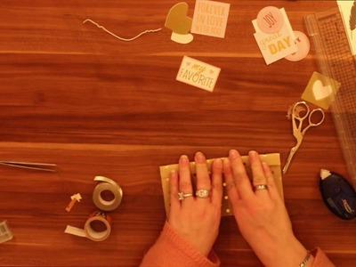 Filofax DIY Tasche für Sticker, Samples & Co