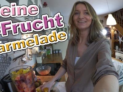 Meine 9-Frucht Marmelade | Einfaches Rezept - fruchtig lecker | DIY Vlog#44 marieland