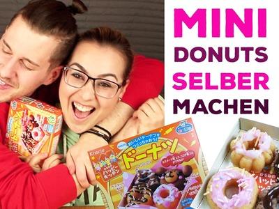 Mini Donuts selber machen | DIY | japanische Süßigkeiten | MatinDeepunkt