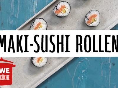 Sushi selber machen - Maki rollen #DIY