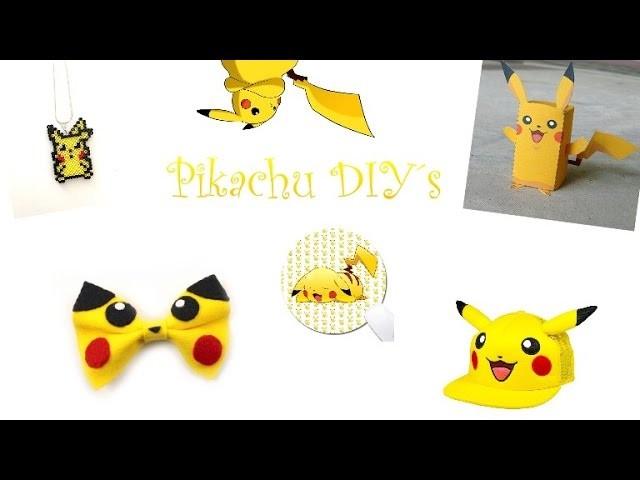 5 Pikachu-DIY´s  ???? [Emmely´s Ideen Welt]