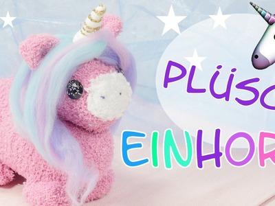 DIY Plüsch Einhorn I Einhorn Kuscheltier selber machen I Kuscheltier nähen I Unicorn Plush