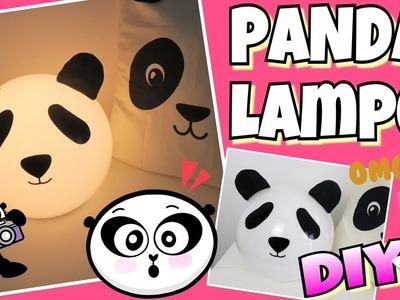 IKEA HACK DIY PANDA ???? LAMPE coole Mädchen