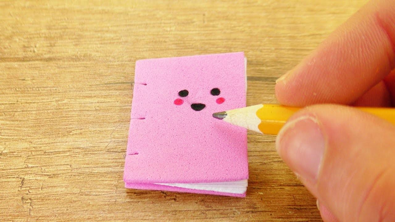 Mini kawaii notizbuch diy s es heftchen f r kleine botschaften selber machen - Kleine drahtkugeln selber machen ...