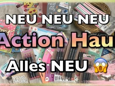 XL Action Haul (deutsch), Twinmarker, Sticker, Streudeko, DIY, basteln, Februar 2017 ACTION
