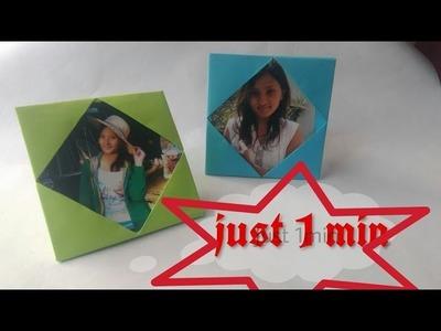 1min Paper Photoframe