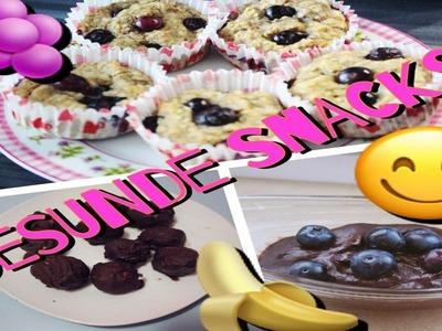 DIY GESUNDE Snacks PINTEREST Edition - lecker und einfach :). Pinkroseoffashion