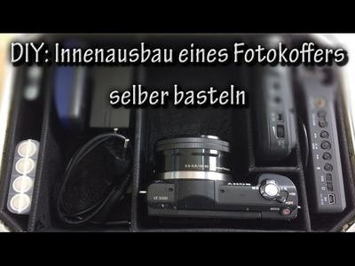 DIY: Innenausbau eines Fotokoffers selber basteln
