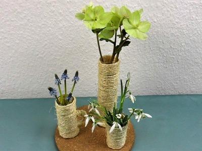 DIY Tischdeko im Winter mit Blumen ❁ Deko Ideen mit Flora-Shop