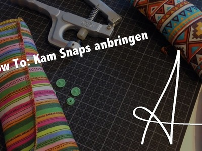 How To : Kam Snaps anbringen | DIY