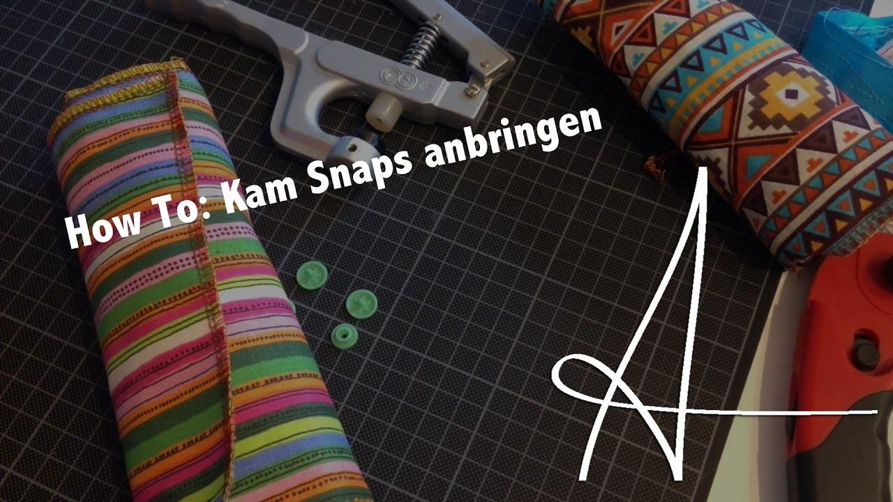 How To : Kam Snaps anbringen | DIY