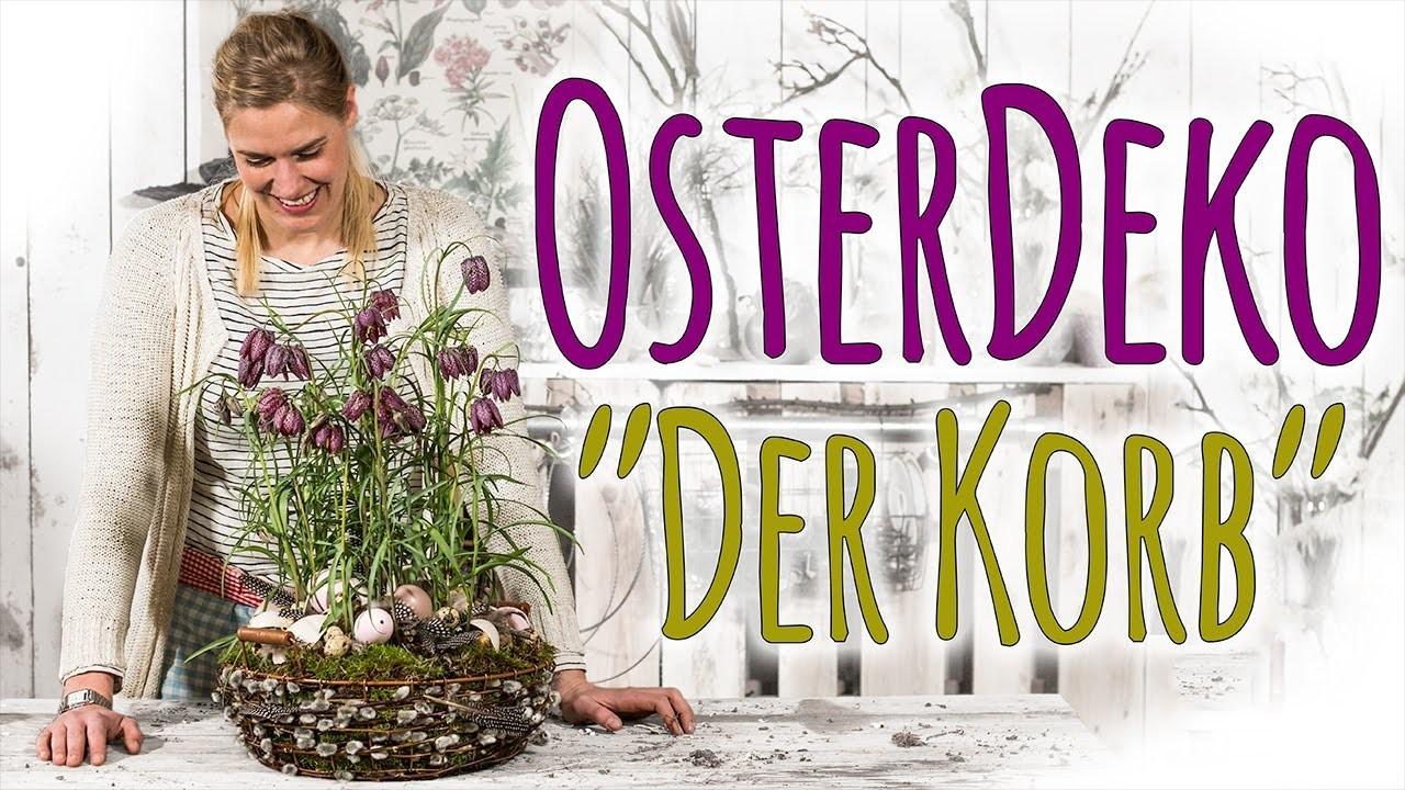 OSTERDEKO 2017 - DER KORB - DIY