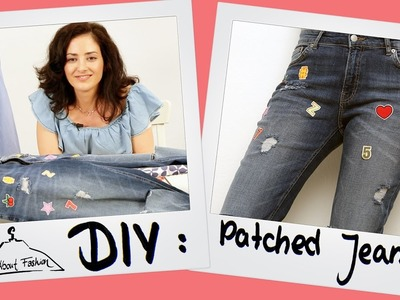 Patch Jeans: Fashion DIY