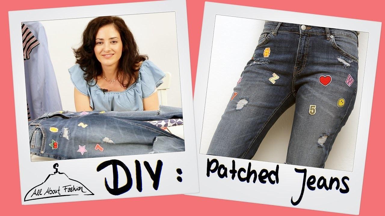Patch Jeans: Fashion DIY