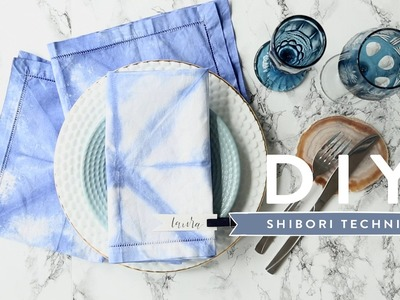 Shibori-Technik | WESTWING DIY-Tipps