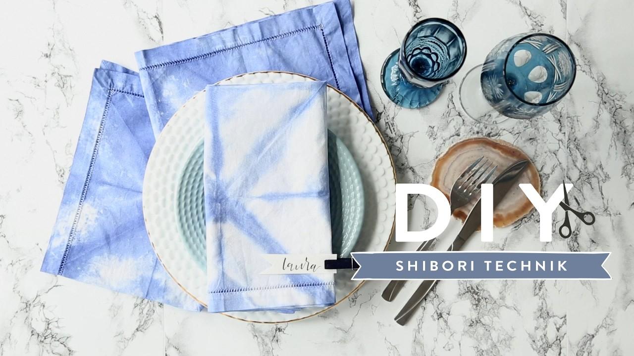 Shibori-Technik | WESTWING DIY-Tipps