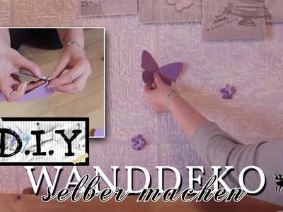 Wanddeko selber machen aus Papier (DIY Idee)