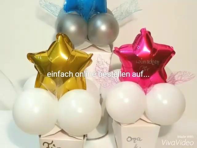 Weihnachtsgeschenke aus Sonjas Ballon-Shop