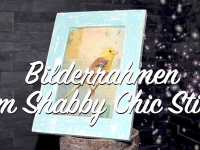Bilderrahmen im Shabby Chic Stil streichen - DIY - ganz einfach - Anleitung