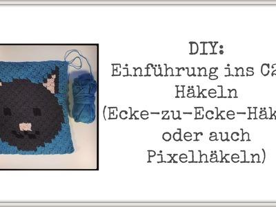 DIY: Einführung ins C2C-Häkeln (auch Ecke-zu-Ecke oder Pixel-Häkeln)