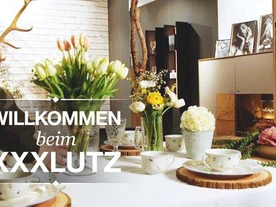 Frühlingshafter Tisch - DIY Tischdeko - XXXLutz Inspiration