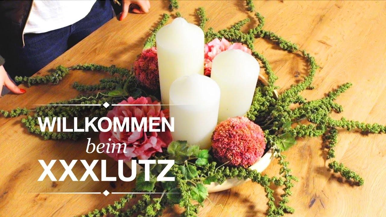 Tischgesteck für eure Dinnerparty - DIY Tischdeko - XXXLutz Inspiration
