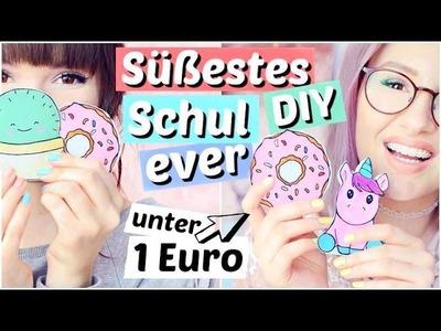 Süßestes DIY für 1€ - NOTIZBLÖCKE für die SCHULE ???? | ViktoriaSarina