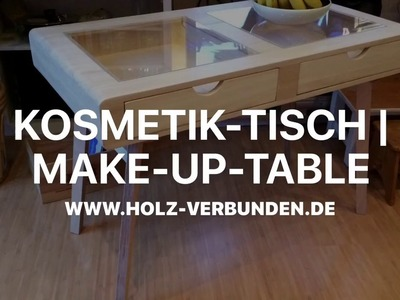 DIY Make up Tisch | Make up Table - Retro|Midcentury