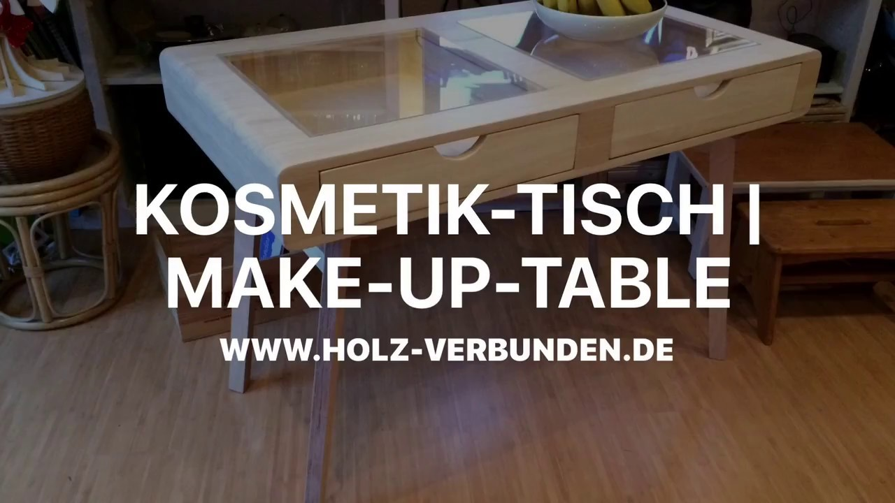 diy make up tisch make up table retro midcentury. Black Bedroom Furniture Sets. Home Design Ideas