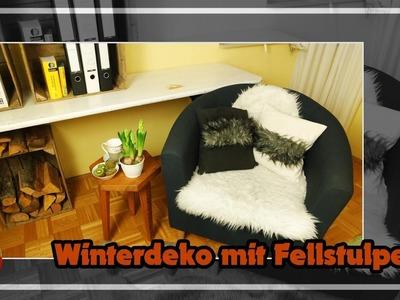 DIY.winterlicher,kuscheliger Einrichtungstipp.gemütlich machen