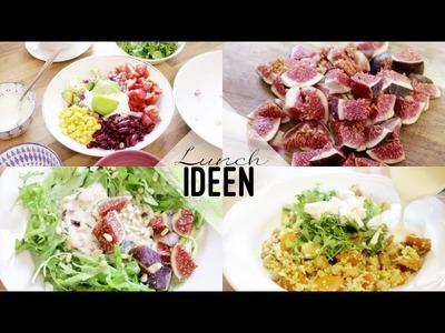 LUNCH-IDEEN I schnelle & einfache Rezepte fürs Mittagessen