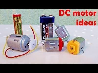 4 ehrfürchtige Ideen mit DC-Motor - diy 4 nützliche Maschine mit DC-Motor