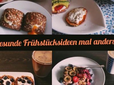 4 gesunde DIY Frühstücksideen mal anders. gesund, einfach & lecker