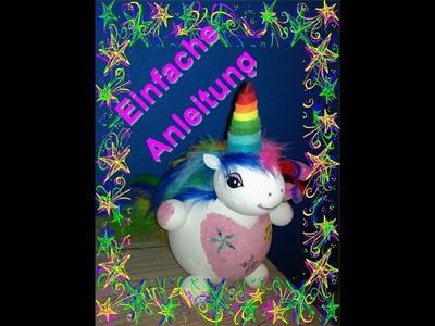 Einhorn. Rainbow Dash