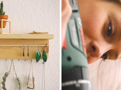 Schmuckregal + Verlosung! | DIY | Jelena