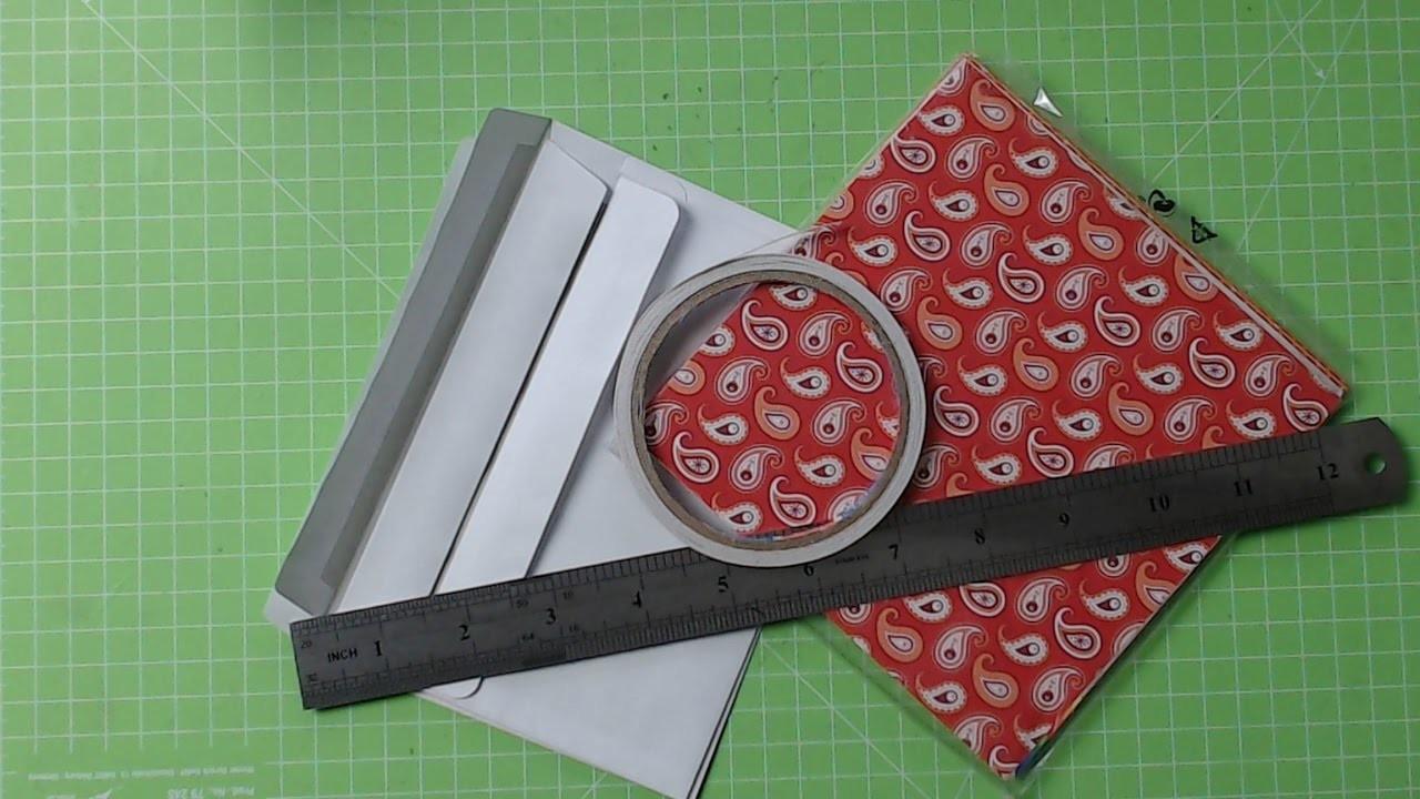 +++Watch me Craft+++Ein Flipbook aus Briefumschlägen Basis+++