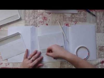 +++Watch me Craft+++ Ich baue ein Photo Folio aus Versandtaschen und Briefumschlägen+++Basis+++