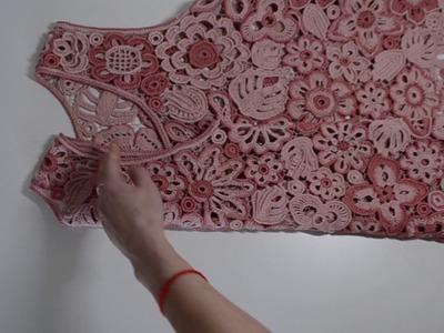 "Bluse ""Flowerpower ""  Crochet by Elena Obukhova"