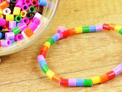 Bügelperlen Armband super einfach selber machen | Basteln mit Kindern | Schmuck DIY