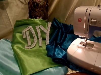 DIY: Näh-Kurs, Stoff SÄUMEN ,DEKO-Decken,Tischdecken, Deckchen SELBER MACHEN; How-to