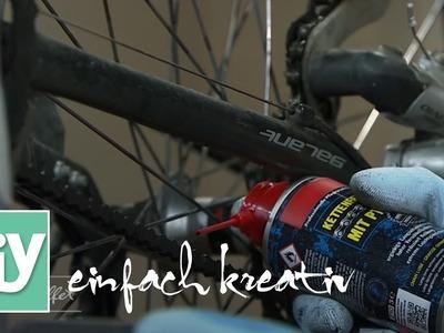 Frühlings-Wartung für Fahrräder | DIY einfach kreativ