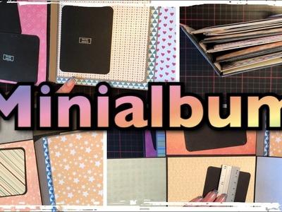 Minialbum basteln 6x6 (deutsch) Scrapbook, DIY, Tutorial, Craftupdate